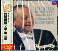 HANS SCHMIDT-ISSERSTEDT-BEETHOVEN: SYMPHONIES NO.7 & NO.8-JAPAN CD Ltd/Ed B50