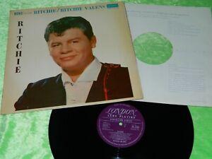 RITCHIE VALENS : self titled - Original 1961 UK 1st press London LP EX/NM 215