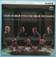 FOUR FRESHMEN~STARS IN OUR EYES~1961 UK 12-TRACK MONO LP RECORD~CAPITOL T 1682