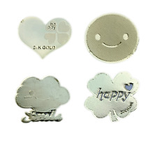 "FOUR EMF Shields for Phone, MP3, Tablet, Laptop - ""Get Happy"" Assortment"