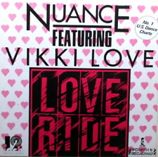 """NUANCE FEATURING VIKI LOVE 12"""" 45 - IN EXCELLENT CONDITION - GERMAN PRESSING"""