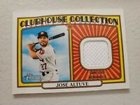 Jose Altuve 2021 Topps Heritage Clubhouse Collection Jersey Houston Astros