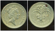ROYAUME UNI  1 pound 1990