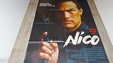 steven seagal NICO ! affiche cinema karate