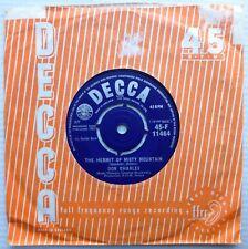 DON CHARLES prod. JOE MEEK u.k.Decca 45 HERMIT OF MISTY MOUNTAIN / MOONLIGHT J16