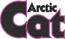 """ARCTIC CAT vintage style 3"""" DECAL Snowmobile Sticker ZR Panther Puma XF SnoPro"""