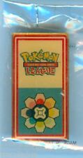 RAINBOW BADGE PIN POKEMON™ 2001 KANTO LEAGUE - FACTORY SEALED - YELLOW FACE