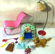 Lot 11 pcs. BARBIE Furniture and Accessories Fashion Fever  My Scene