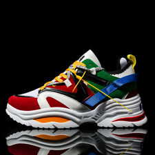 Men's Running Shoes Sports Walking Shoes Breathable Casual Sneakers Fashion ins