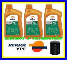 Kit Tagliando HARLEY DAVIDSON 883 1200 1340 1450 + Filtro Olio REPSOL 20W/50