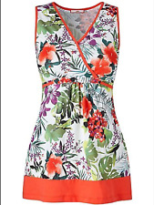 Joe Browns Size 10 Rainforest Bold n Bright TOP Summer Holiday New Party