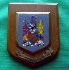 Old Nurse Doctor University Singapore Academy of Medicine Crest Plaque Shield