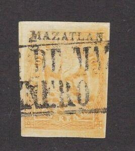 Mexico #23 Period 4 Consignment 191-1865 Mazatlan