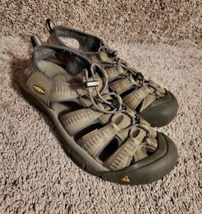 Keen H2 Newport Brown Canvas Sandals Mens 10.5