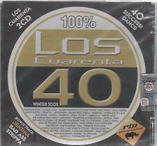 100 % LOS CUARENTA 40 WINTER 2005  - 2  CD F.C. SIGILLATO!!!