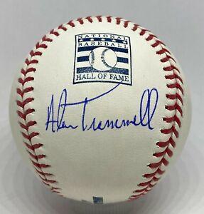 Alan Trammell Signed HOF Logo Baseball Autograph TRISTAR COA Detroit Tigers