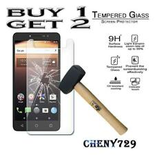 For Alcatel A3 XL - 100% Genuine Tempered Glass Film Screen Protector Cover