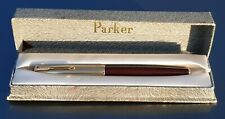 Parker 51 VACUMATIC 1947 DOUBLE  JEWEL CORDOVAN BROWN 14k GOLD FILL CAP