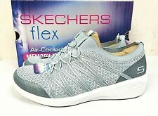 Skechers Women's Arya Air-Cooled Memory Foam Slip-On Shoes PICK SIZE BLUE -0R_56