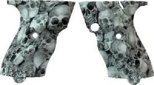 HI POINT JHP45/JCP40 TEXTURED GRIPS-SKULL PATTERN-FACTORY OEM. FREE SHIP