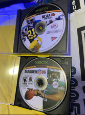 New ListingXbox Madden Nfl And College Ncaa 06 Video Games Discs Only Football Tested