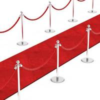 15FT RED CARPET Floor Runner Wedding Hollywood Birthday Party Prop Decoration
