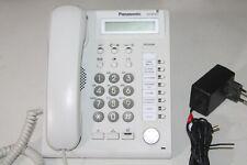 Téléphone filaire de bureau PANASONIC KX-NT321NE BLANC pour PABX (b)