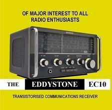 Eddystone EC10-DVD-le comunicazioni HF Ricevitore-radio a onde corte