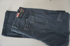 NEW ZEALAND AUCKLAND N.Z.A. Herren Jeans cargo chino Hose W34 L32 blau #E10