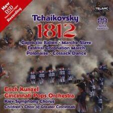 Erich Kunzel, P.I. Tchaikovsky - 1812 [New SACD] Hybrid SACD, Rmst
