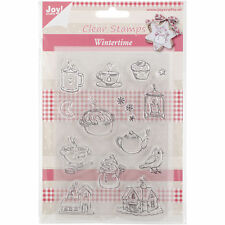 Joy! Crafts Winter Time 2 Clear Stamps - New