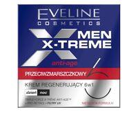 EVELINE MEN X-TREME ANTI-AGE ANTI-WRINKLE REGENERATING CREAM 6IN1 DAY NIGHT