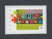COTTAGE COUNTRY = MUSKOKA CHAIRS = MNH stamp Canada 2014 [pp9sn4]