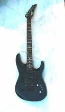 New listing GTX 23 Kaman Black Electric Guitar