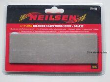 "6""/150mm COARSE Diamond Sharpening Stone Whetstones Planes Chisels Mowers ETC"