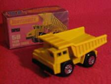 Matchbox Lesney Superfast Number 58 Faun Dump Truck (1976).