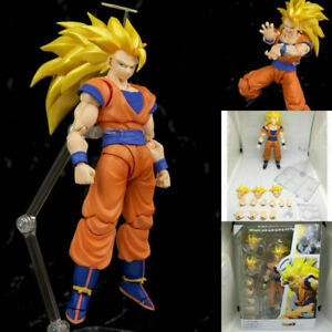 S.H.Figuarts SHF Dragon Ball Z Super Saiyan 3 Son Gokou Action Figures SS3 Boxed