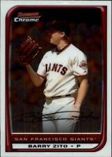 2008 Bowman Chrome Baseball #90 Barry Zito San Francisco Giants