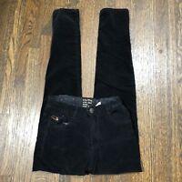 Zara Girls Casual Collection Pants Size 10 Black Elastic Waistband