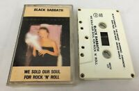 Black Sabbath ~ We Sold Our Soul For Rock 'N' Roll ~ NEMS, Cassette