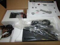 NEW Sealed Genuine Lenovo ThinkPad Mini Dock Plus Series 3 433830U 4338-30U (CL3