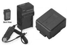 VW-VBG130PP9 Battery +Charger for Panasonic VWVBG130PP9 AGHMC42 AGHMC42E HDC-SD1