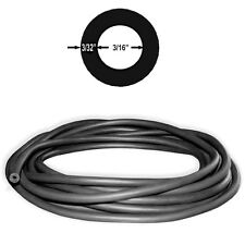 3/8in 10mm Kent Polespear Band Rubber Latex Tubing BLACK 4ft (1.2m) (#606)