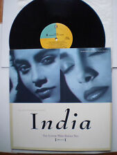 """INDIA (with KYZE) - """"THE LOVER WHO ROCKS YOU (ALL NIGHT)"""" -12"""" - 5 TRACKS - 1990"""