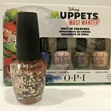 Muppets Most Wanted 4Pc Mini Collection by Opi and Full size polish!