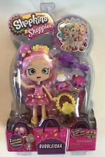 Shopkins Shoppies BUBBLEISHA NEW SEALED With 2 Exclusive Shopkins rare figure