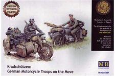 MasterBox MB3548F 1/35 Kradschützen: German Motorcycle Troops on the move