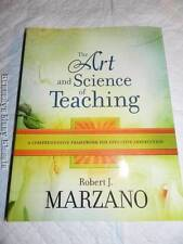 Robert J. Marzano The Art and Science of Teaching Softcover Book Excellent Condi
