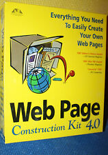 Web Page Construction Kit 4.0 with Bonus Creating You own Web Pages: 2nd Edition