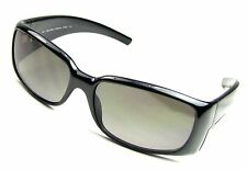 CK CALVIN KLEIN SUNGLASSES 675/S 090 Onyx Black/ Gray Fade Lenses, Nice! Save!
